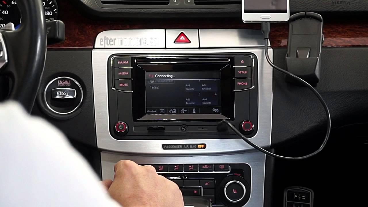 Eftermontera / retrofit MIB i VW Passat 2009