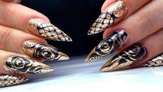 видео Видео: 5 способов нарисовать елку на ногтях