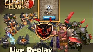 Clash of Clans Clan Wars - LIVE Attacks For All!