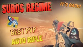 THE SUROS REGIME IS BACK! BEST AUTO RIFLE FOR PVP - Destiny 2 Warmind Exotic Weapon Review