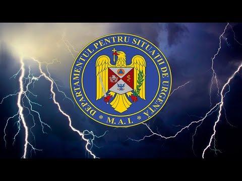 Avertizări push de meteo și urgente pe telefon - drumuri inchise, furtuni, viscol, etc
