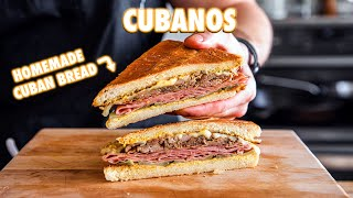 How To Make Cubanos with Homemade Cuban Bread