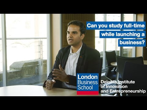 Entrepreneur or MBA student? | London Business School