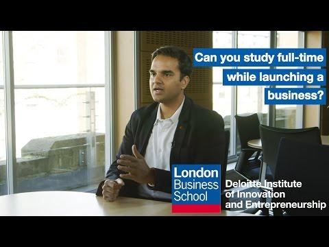 Entrepreneur or MBA student? | London Business School