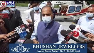 हिमाचल विकास के विषयों पर दिल्ली के दो दिवसीय दौरे से लौटे सीएम जयराम, बॉर्डर मुद्दों पर की चर्चा