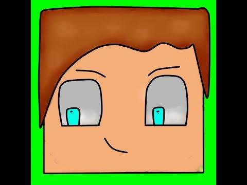 Как нарисовать картинку Minecraft для аватарки на YouTube