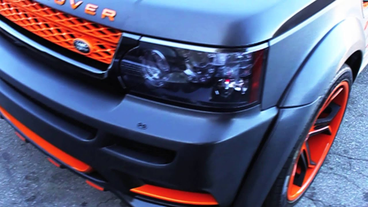 Project range rover sport hamann mansory wrapped in brushed black by dbx youtube
