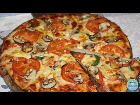la-meilleure-recette-de-pizza-fait-maison✅vous-n'en-achèterai-plus-tellement-ses-bon-et-super-simple