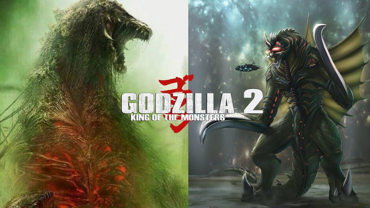 Movie Poster 2019: Biollante And Gigan In Godzilla 3
