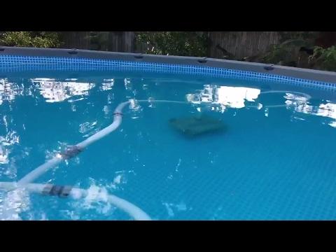 intex auto pool cleaner hook up