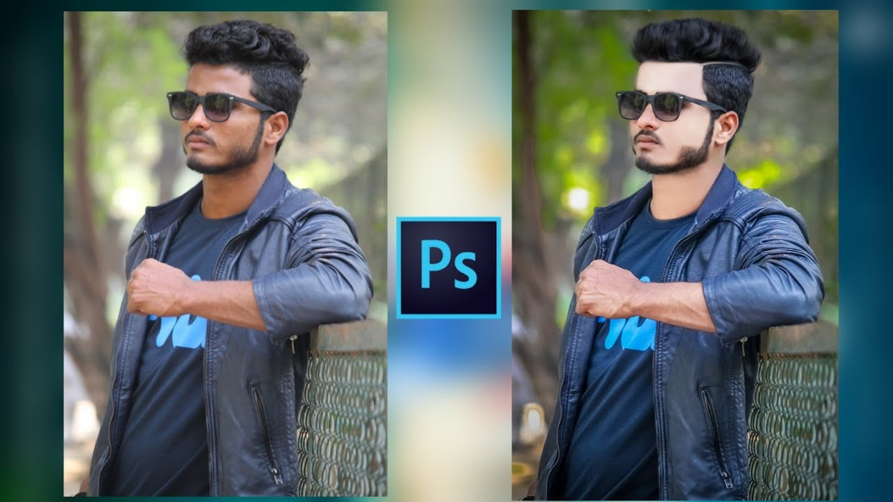 How to Edit Photo Retouching By Photoshop CC 2018 || Chirag D