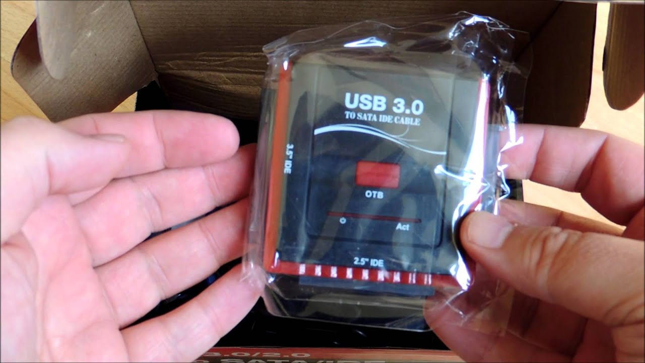 Unboxing Usb 3 0 2 0 To Sata Ide Pata 2 5 3 5 Inch Hard