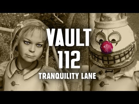 The Full Story Of Fallout 3 Part 7 Vault 112 Tranquility Lane Fallout 3 Lore Youtube