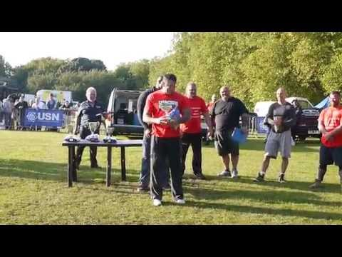 Yorkshire's Strongest Man u105kg 2015 - Ian Phillips - Winner