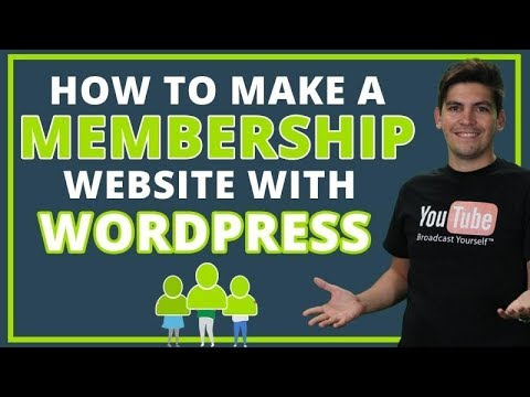 How To Make A Membership Website With WordPress 2020