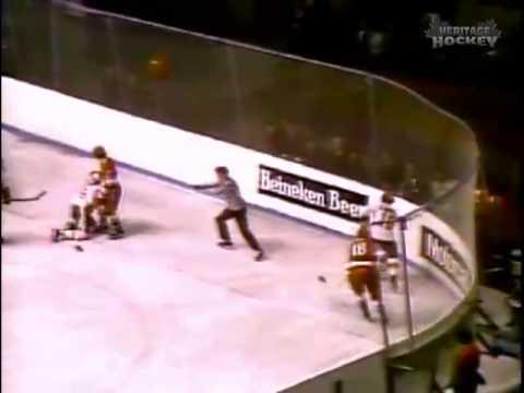 Bobby Clarke - 1972 Summit Series Game 6, Slash