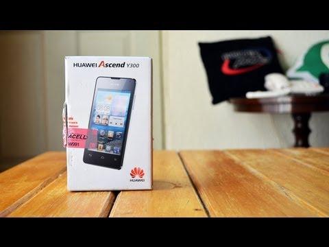 Huawei Ascend Y300 - Unboxing en Español HD