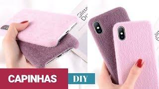 DIY CAPINHAS DE CELULAR / Phone DIY Projects | Nanny Ribeiro