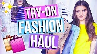 new fashion stuff try on haul h adidas mango i mjette