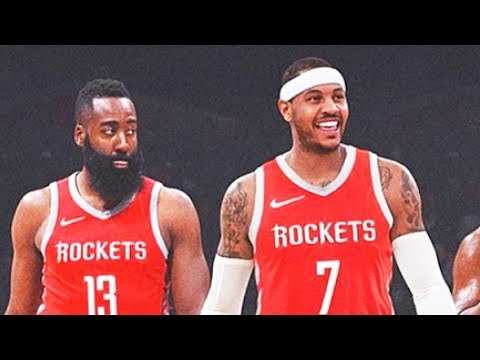 James Harden Leaves Rockets After Carmelo Anthony Joins The Team (Parody)