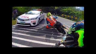 Street Racers vs Police Fail Win Compilation - POLICE VS MOTO !! HD