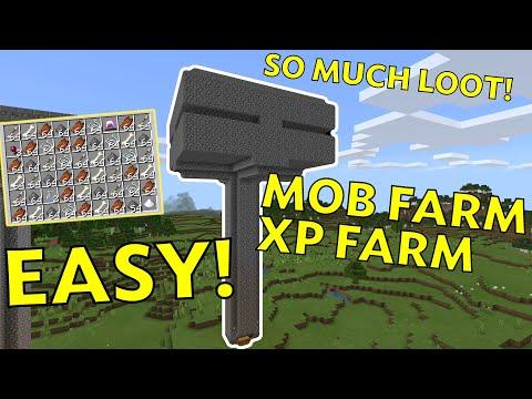 SUPER SIMPLE U0026 EASY MOB XP FARM Tutorial 1.16+