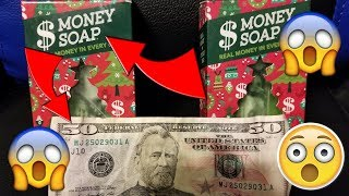 WE GOT $100 DOLLARS IN OUR MONEY SOAP