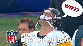 3 Worst Plays (Week 9) | WTF: What The Football?! | NFL Now