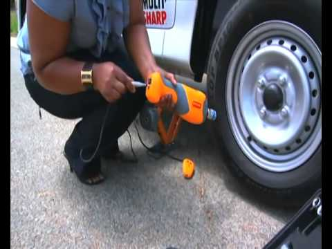 Change Your Car Tyre In 60secs With Remote Control