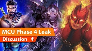 MCU Phase 4 Leak Discussion & More