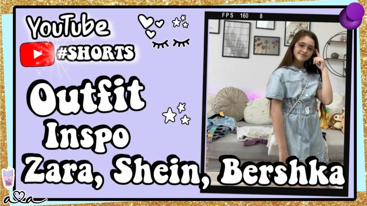 Outfit Ideen für den Frühling Zara, Shein, Bershka 💜 Alles Ava #shorts