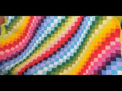 Лоскутное одеяло в технике барджелло своими руками