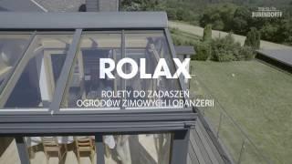 Rolax - Roleta do ogrodu zimowego i oranżerii aluminiowych
