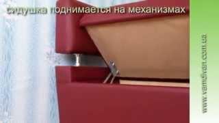 Лавка на маленькую кухню с боковой спинкой. Кухонная мебель.(, 2013-08-24T12:37:32.000Z)