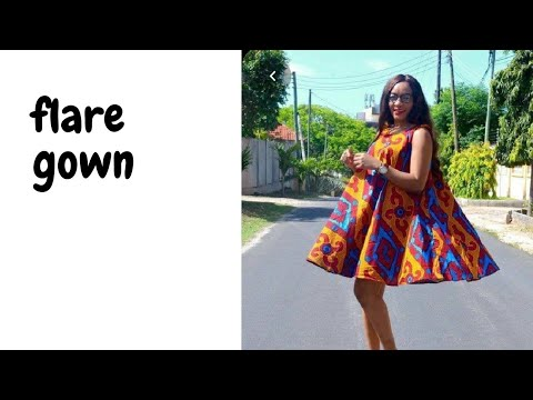 Download How to cut flare dress | circle dress| cutting and stitching