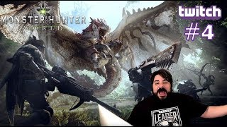 Game Rating Review Weekly TWITCH Stream: Monster Hunter World #4 with Nick & David (07/18/18)