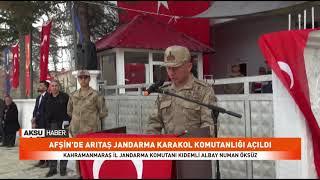 Arıtaş Jandarma Karakol Komutanlığı Açıldı