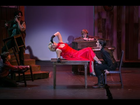 """""""Naughty Baby"""" from Crazy for You.  McKenna Wells(16) and Riley Dunn"""