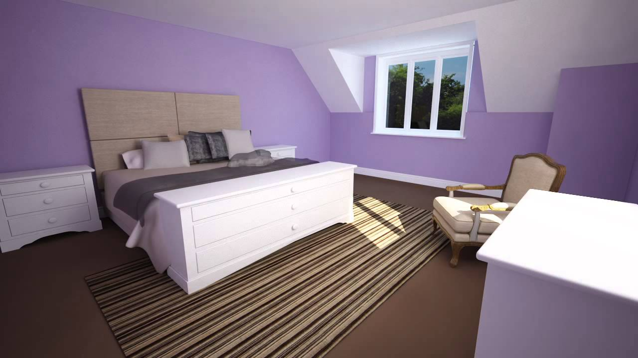 Colour schemes: create a calm and relaxing bedroom - YouTube