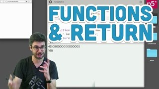 5.3: Functions and Return - p5.js Tutorial