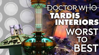 TARDIS INTERIORS WORST TO BEST | Doctor Who Console Rooms