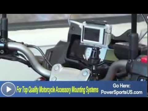 Motorcycle Handlebar Mount for the GoPro Video Camera