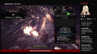 Ahihi Stream - Monster Hunter World High Rank - TẬP 16