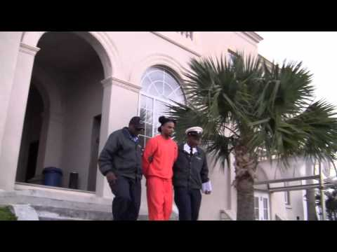 Jaron Roberts Leaving Supreme Court Bermuda January 9 2012