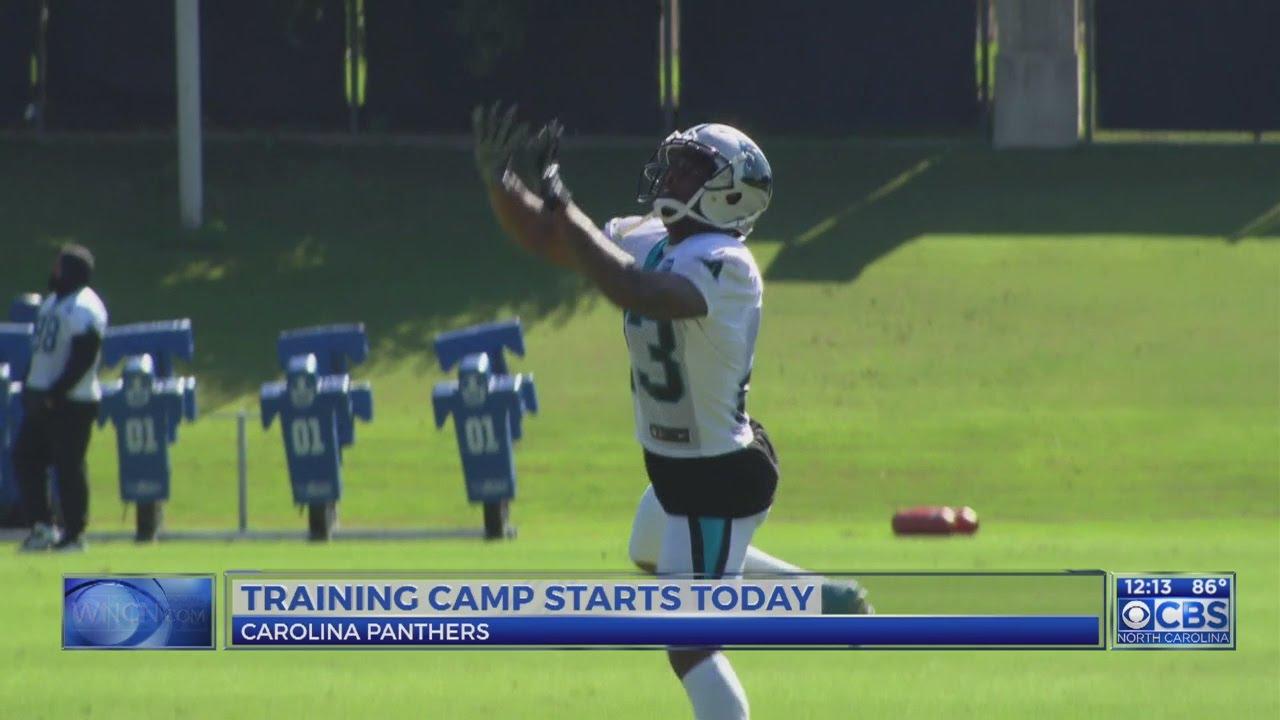 c5d5bd3a Panthers Training Camp kicks off