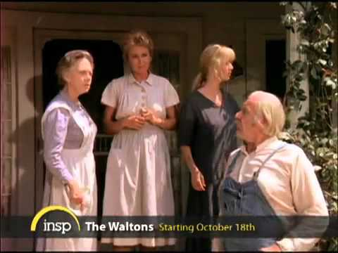 INSP presents The Waltons-Premiering Monday Oct18th with Ralph Waite Richard Thomas.mp4