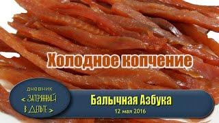 Приготовление балыка. Холодное копчение рыбы. Рецепты.(В этом видео показано вся технологическая цепочка приготовления балыка холодного копчения. Рыбный деликат..., 2016-05-12T12:57:17.000Z)