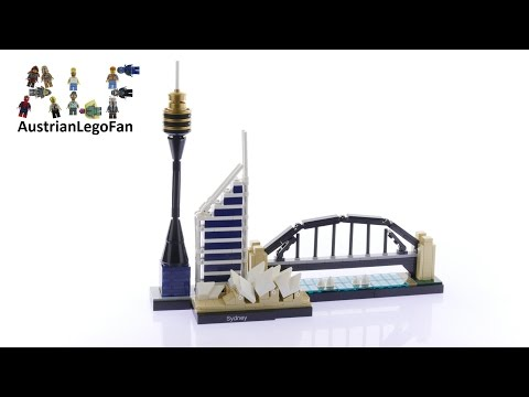 Lego Architecture 21032 Sydney - Lego Speed Build Review