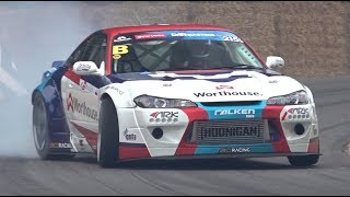 Piotr Wiecek's 2JZ Nissan Silvia S15! - Drifting at Goodwood FOS 2019!