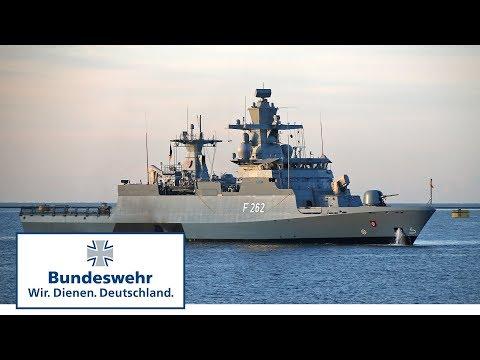 Die Korvette Erfurt beim GOST in England (Teil 1) - Bundeswehr